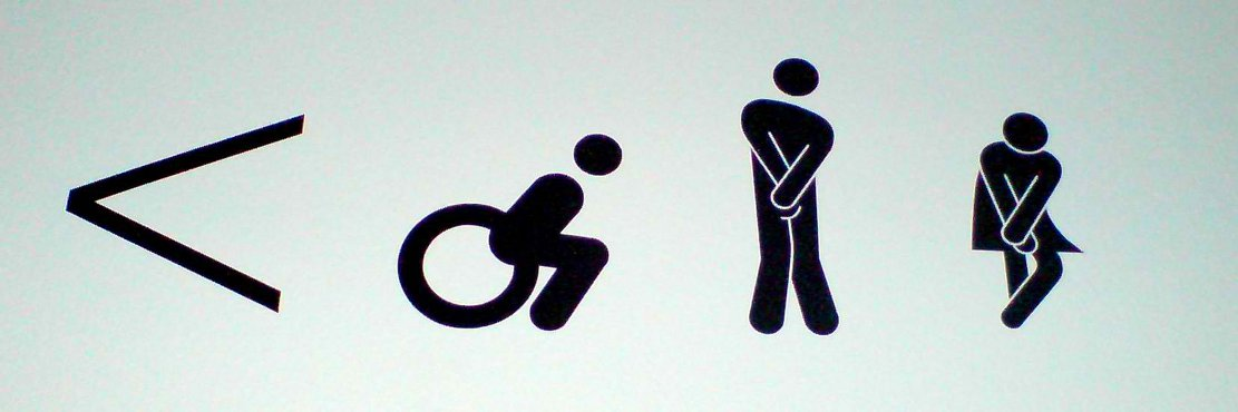Irritable Bowel Syndrome - Toilet Signage