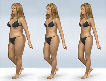 Simple steps to lose weight quickly and permanently.