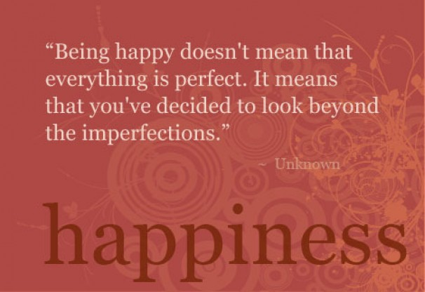 A Meaningful Quote about Happiness