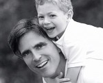 Randy Pausch and son