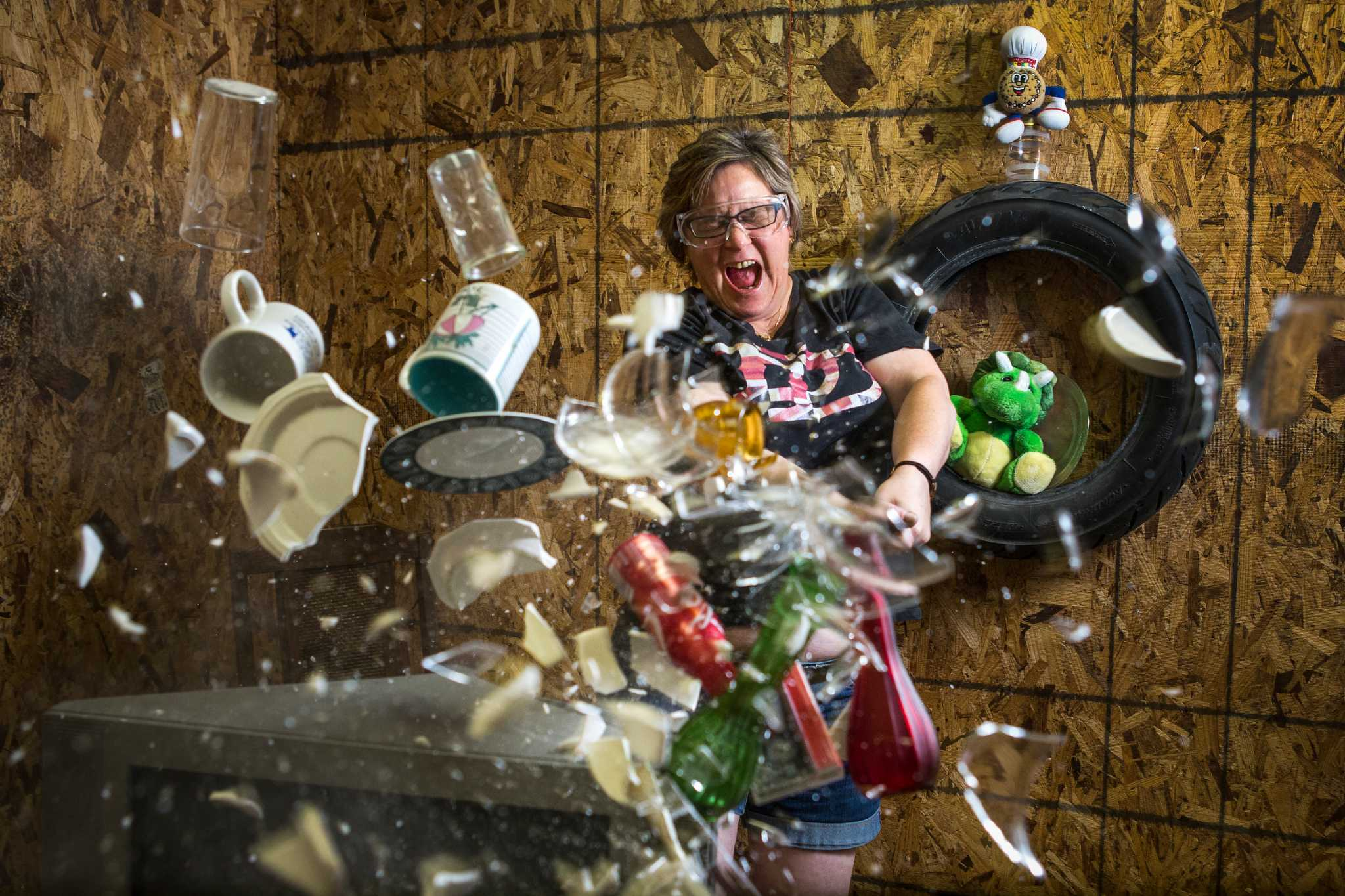 Anger Management: Smashing and Breaking Stuff to Relieve Stress and Frustration